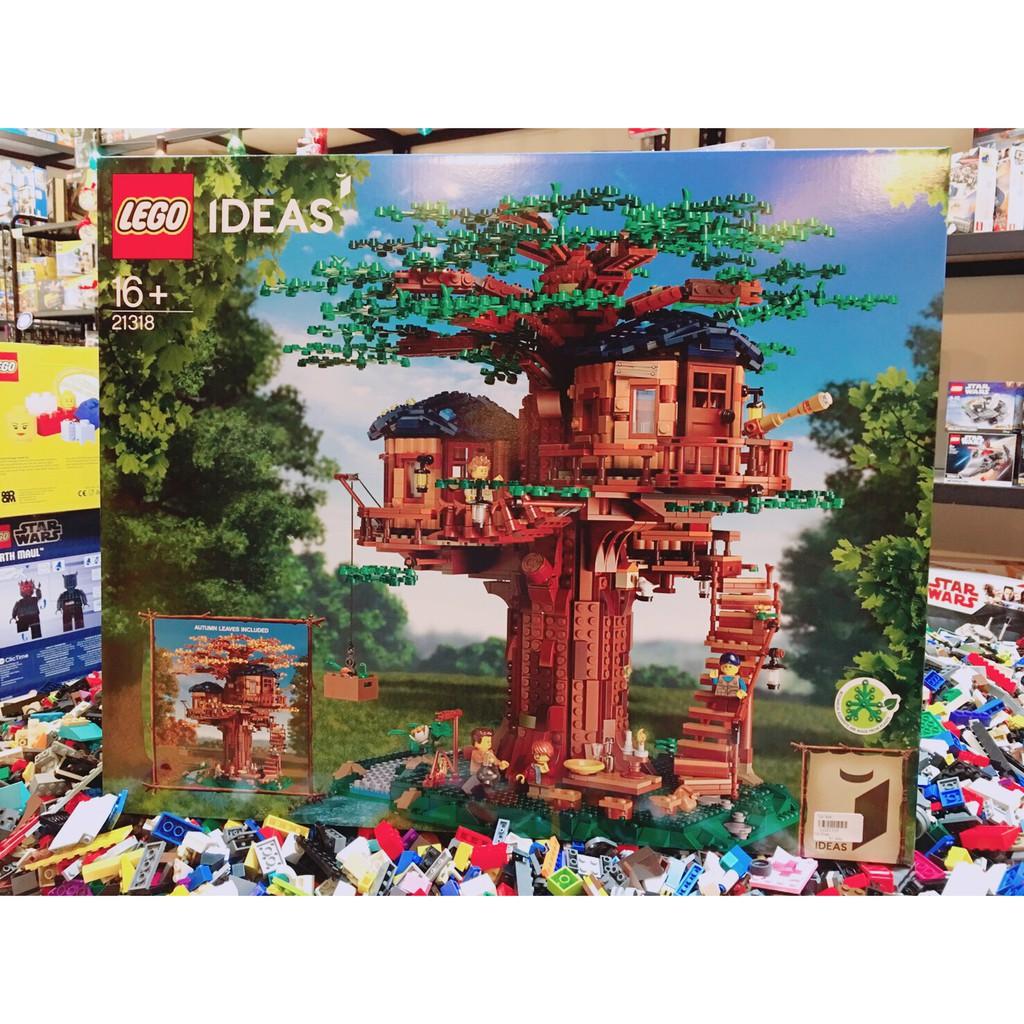 [樂高先生]LEGO 樂高 21318 IDEAS#26 樹屋 Tree House 全新未拆 下標請先詢問<建議郵寄>
