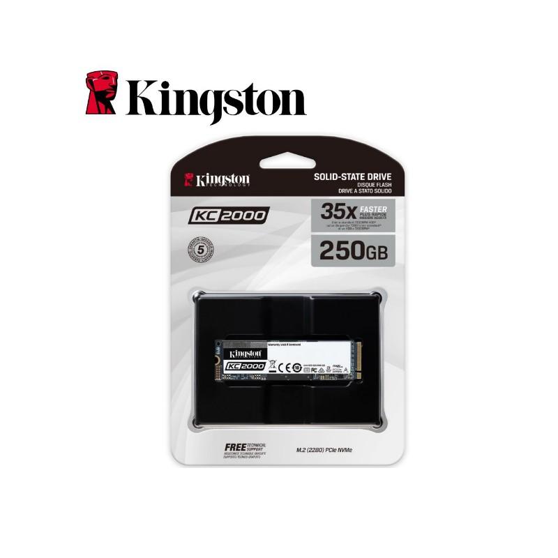 金士頓 250GB SSD 固態硬碟 SKC2000M8 終身保固