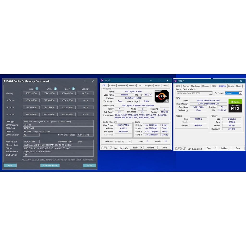 二手DIY組裝機 RYZEN-3600+RTX2080+16G+振華金牌550W+Cooler Master Q500L
