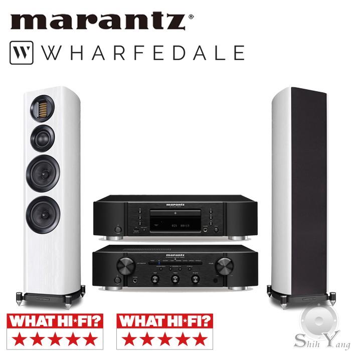 Marantz CD6007 CD播放機 + PM6007 綜合擴大機+ Wharfedale EVO 4.3 公司貨