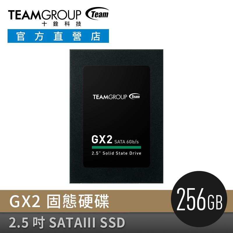 TEAM 十銓 GX2 256GB 2.5 吋 SATAIII SSD 固態硬碟