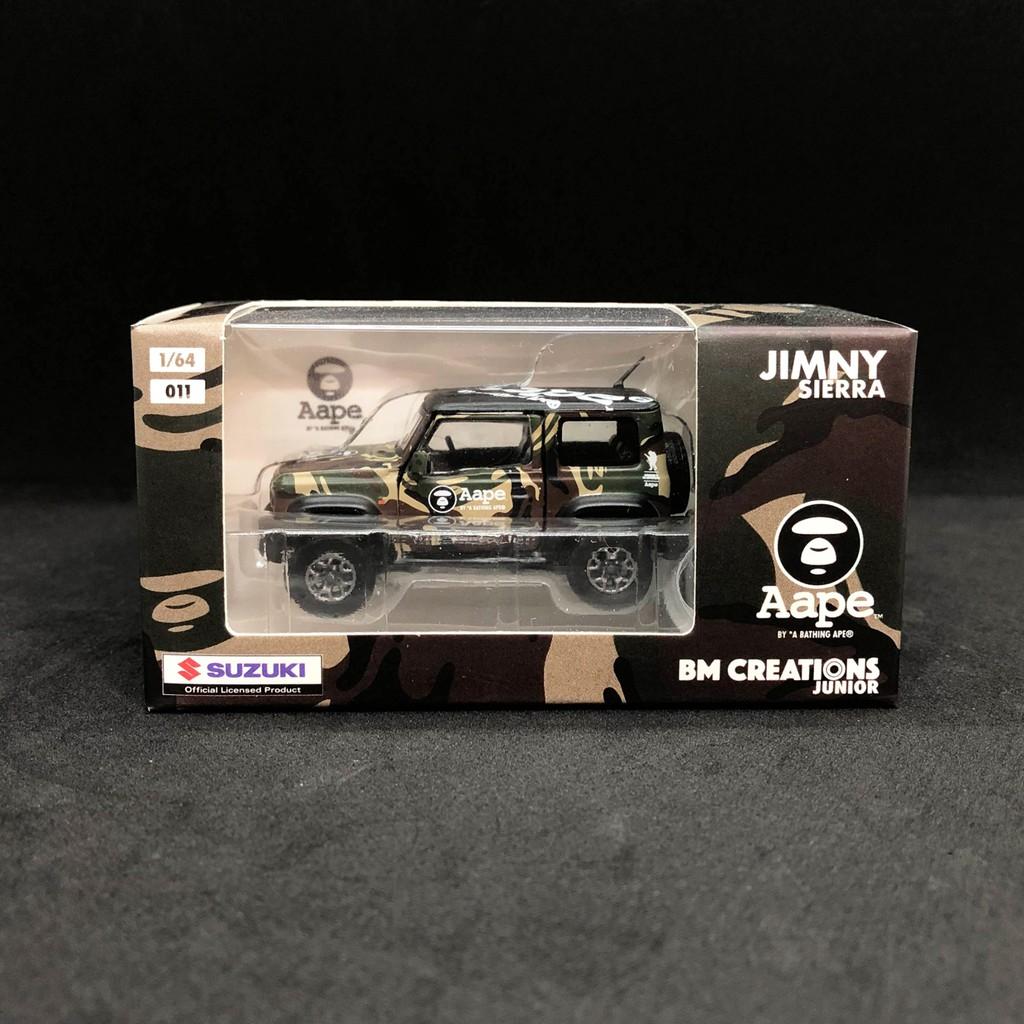 【現貨】BM Creation 1/64 模型車 AAPE聯名限定 Suzuki Jimny