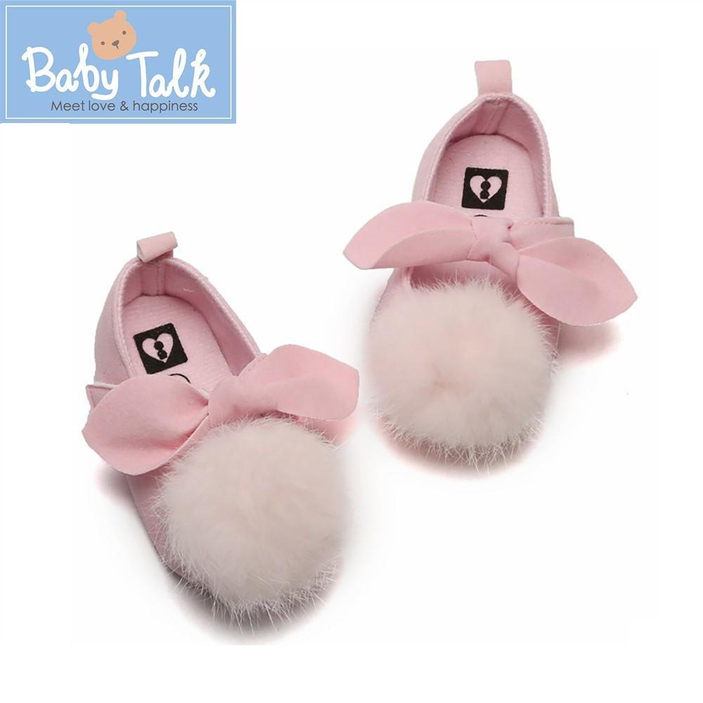 Baby Talk寶寶學步鞋-球球款(魔鬼氈)
