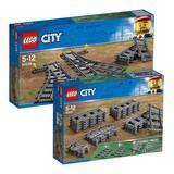 LEGO 60238 60205 Switch Tracks 樂高 切換式軌道 彎道 火車