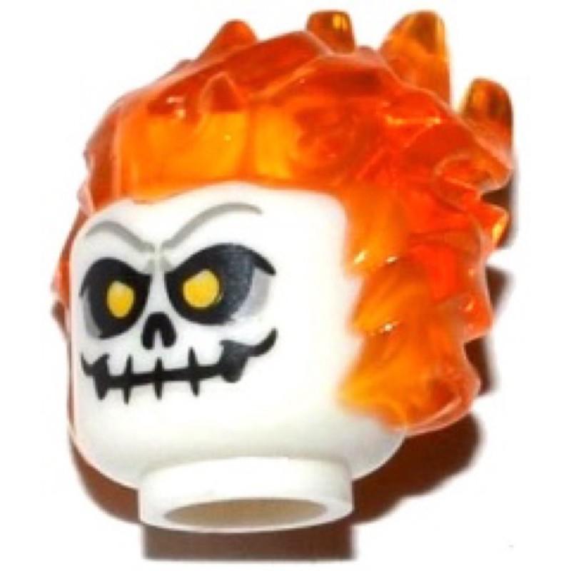 樂高 LEGO 頭 臉 表情 幽靈騎士(26990pb02 76058)