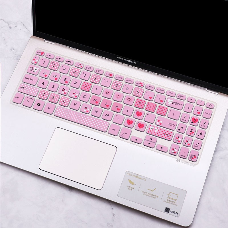 現貨  快速出貨  ✹✠□適用華碩VivoBook十代Vivobook15S鍵盤膜V5000電腦15.6寸防塵罩貼