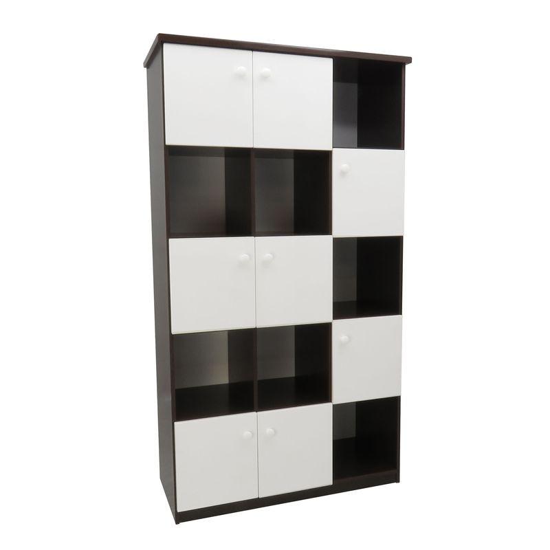 【U43-15】塑鋼置物櫃(胡白色)
