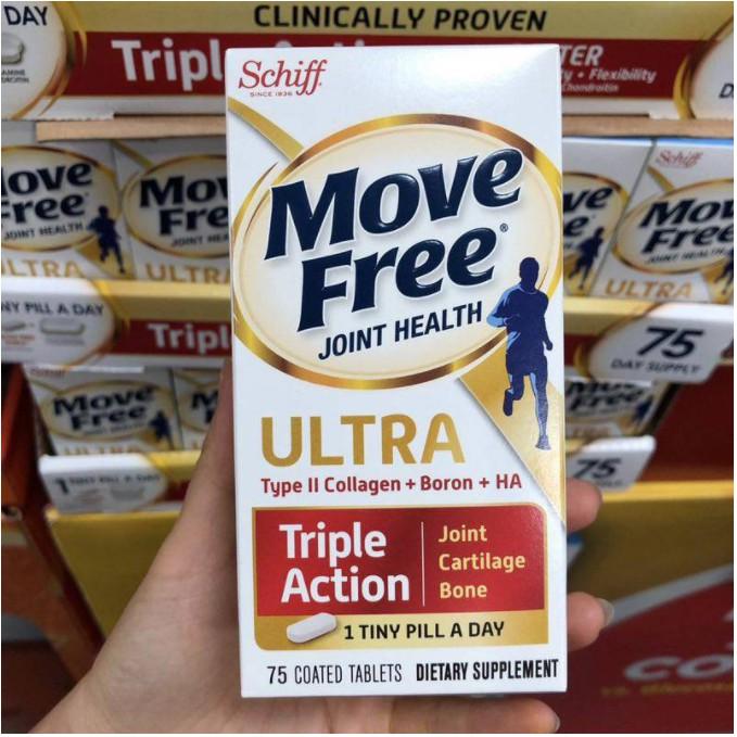 美國親自帶回🎈 Move Free🎈 益節白瓶 紅瓶 UC2 UCII 加強型迷你錠 Schiff 旭福 軟骨75片