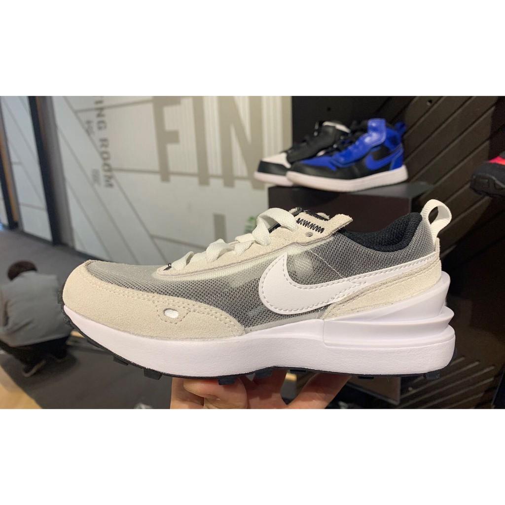 "Nike Waffle One ""Summit White"" 米白灰 運動鞋 休閒鞋 DA7995-100"