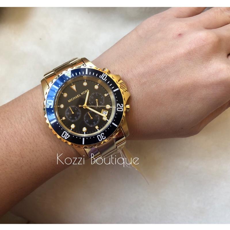 Michael Kors MK8267 MK8311 MK8256 金色 黑色 銀色 三眼 時尚 水鬼 MK錶 大錶