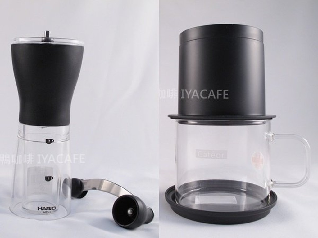 Big Mouth Hario Coffee Mill Prism Msa2sv