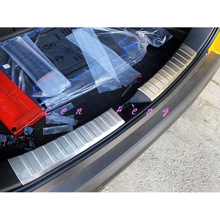 涔峰CF☆(白金)TOYOTA COROLLA CROSS CC 後內護板 行李箱 防刮飾板 後保桿 內後護板 防刮