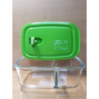 耐熱玻璃 分格 保鮮盒 便當盒 830ml 嘉義市