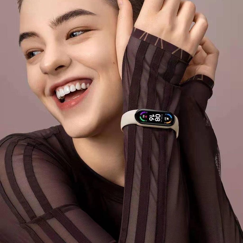 小米手環6 標準版 小米手環5 血氧檢測 小米手環 台灣保固一年 繁體中文 小米手環4小米手環6代全屏版6nfc智能心率