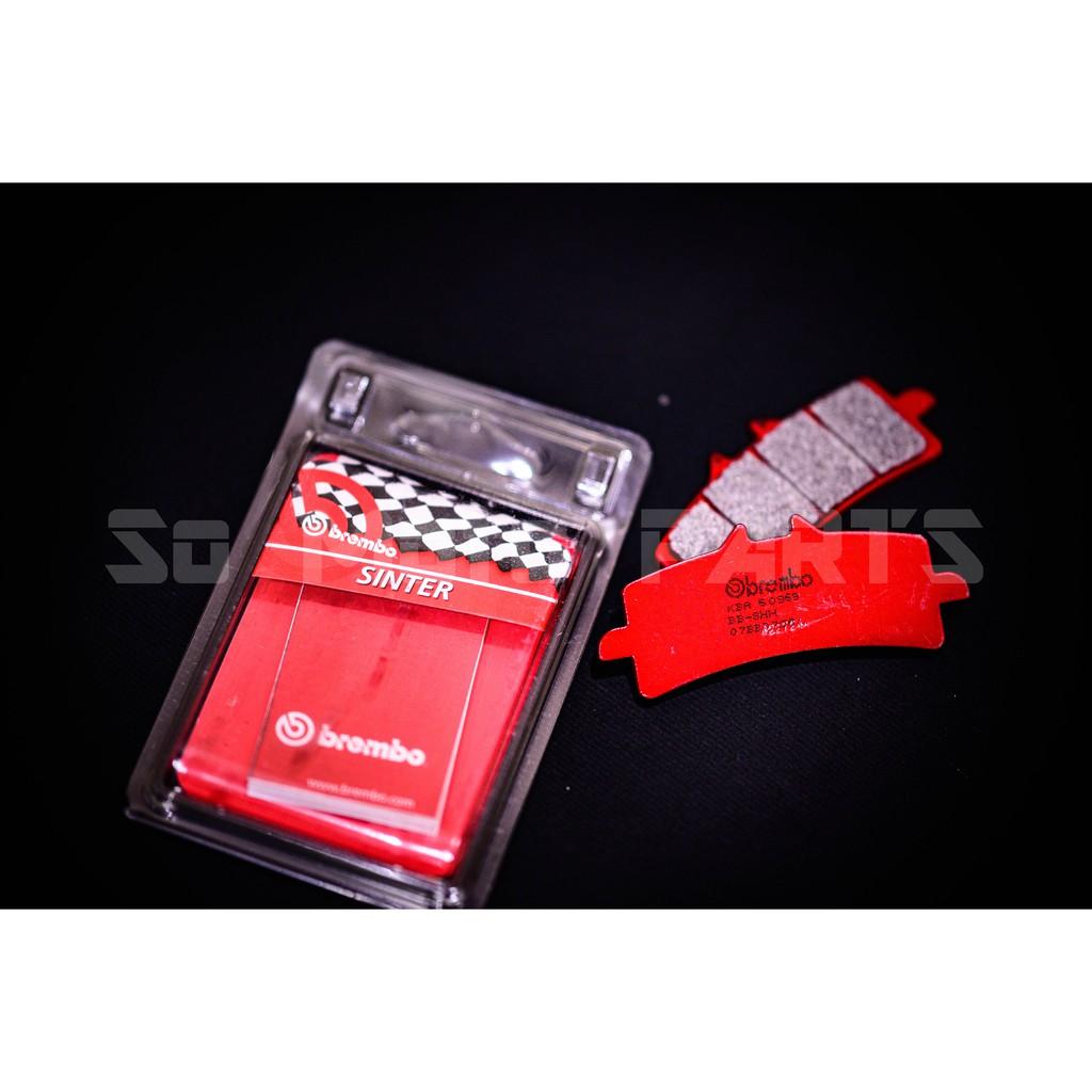 【So-MOTO】BREMBO M4 1098 SA 紅皮 金屬燒結來令 (適用卡鉗:M4/M50/484/GP4RS)