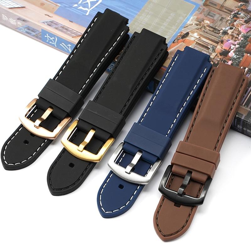 適用 卡西歐 Casio GST-B200 Series 手錶 錶帶 優質 硅膠 橡膠 防水 腕帶