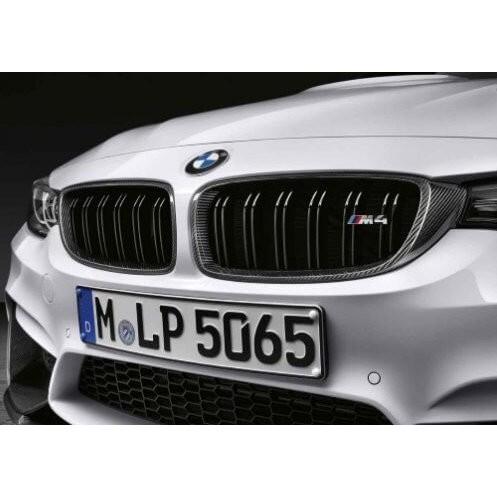 - INND - BMW F82 Lci M4 M Performance 原廠 Carbon 碳纖維 水箱罩 黑鼻頭