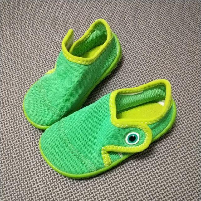 迪卡儂嬰幼兒水陸兩用鞋,防滑鞋,潛水鞋,青蛙鞋