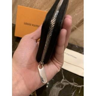 二手真品 Louis Vuitton LV M60152 黑色 EPI 水波紋 拉鍊零錢包 桃園市