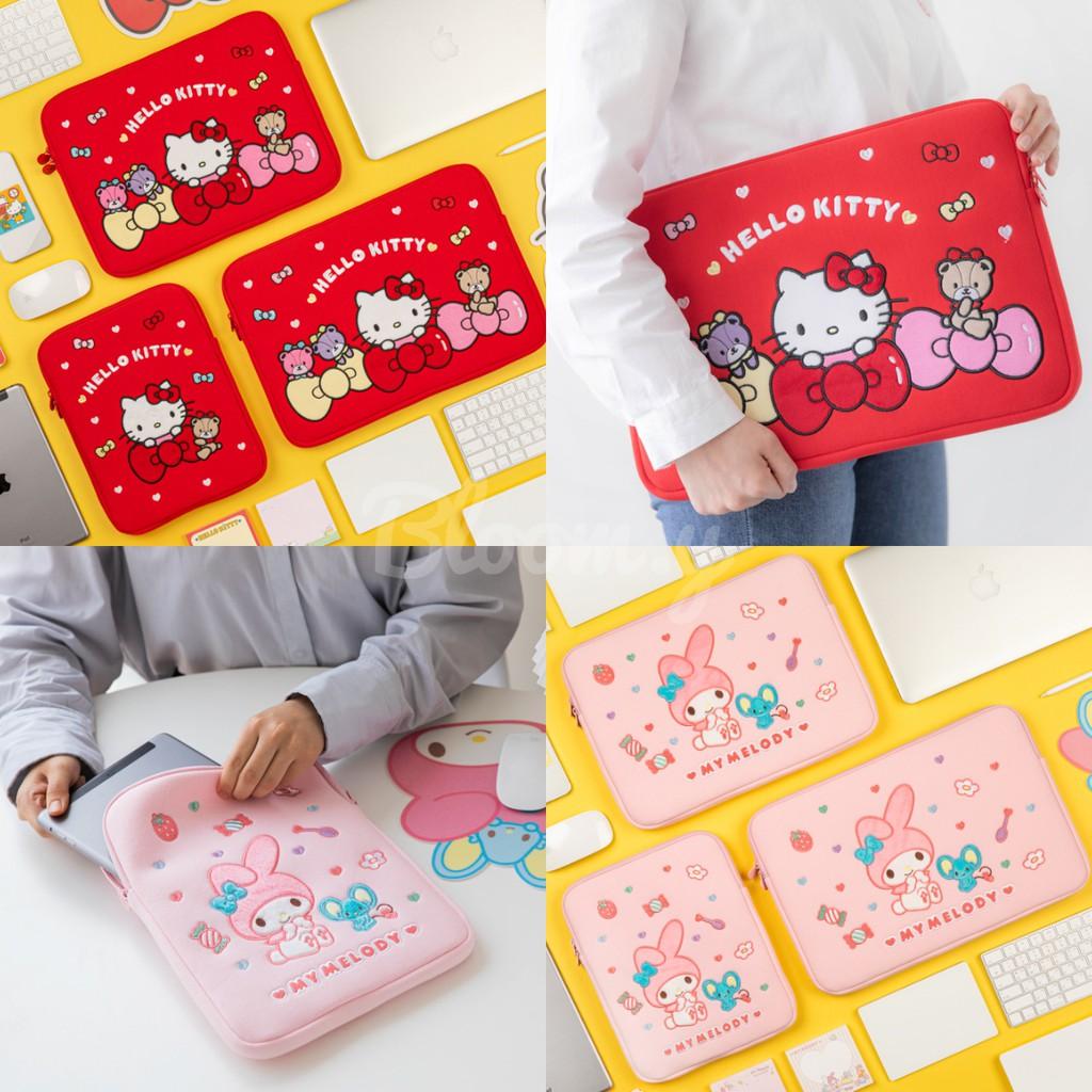 Bloom.y 韓國 10X10 三麗鷗 筆電包 IPAD包 13吋 15吋 Hello Kitty 美樂蒂 KT