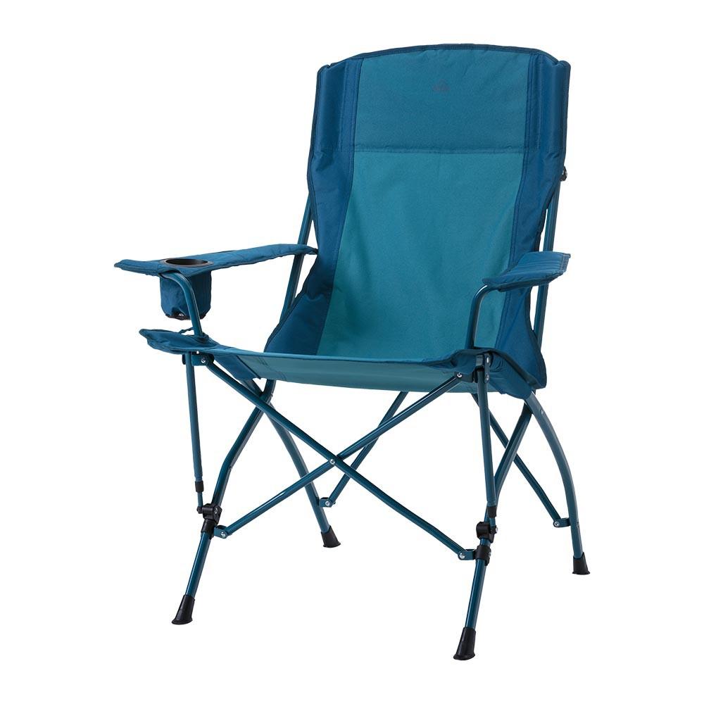 MCKINLEY CAMP CHAIR 400 露營椅-289336-900522-藍 INTERSPORT