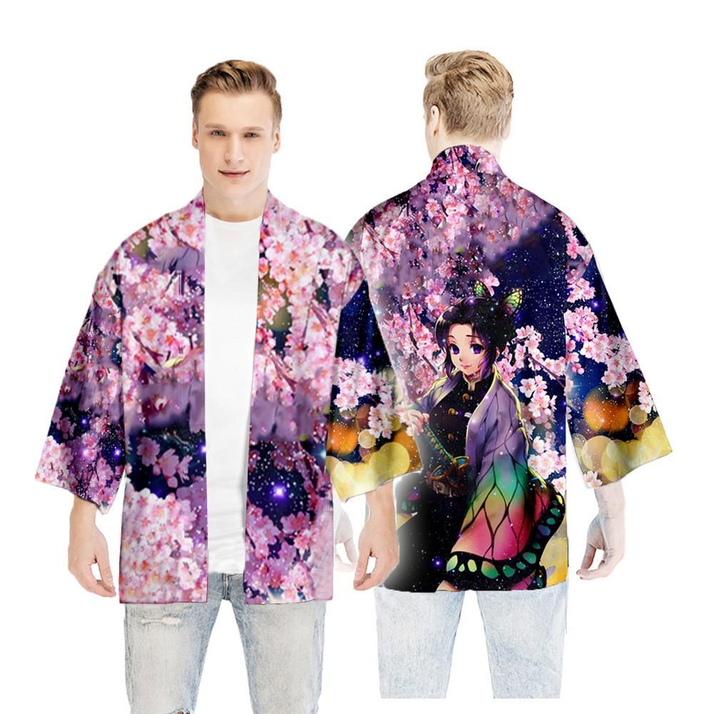鬼滅之刃風衣日式和服披風羽織Cos日漫動漫游戲二次元外披浴衣