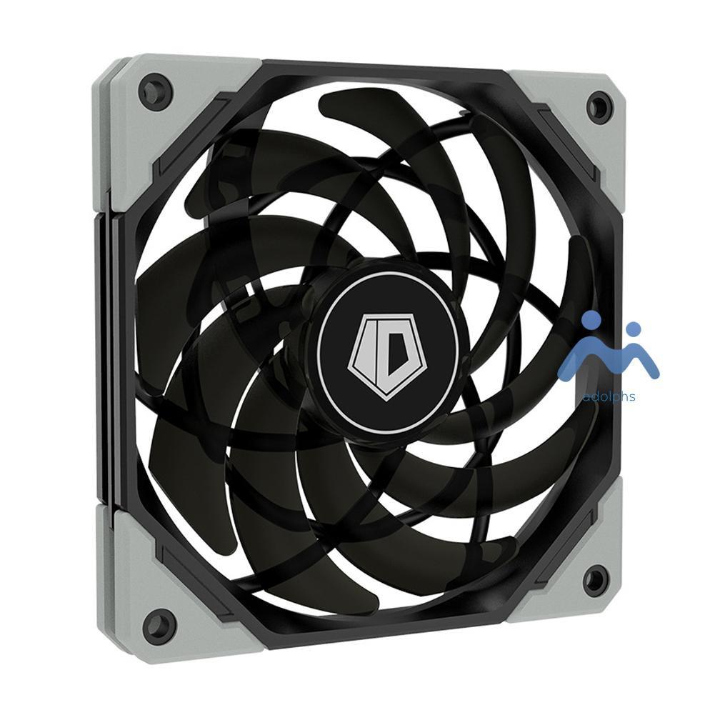 Adolphs Id-Cooling 12015xt 120mm Pwm Pc 機箱風扇超薄靜音 Cpu 水冷風扇