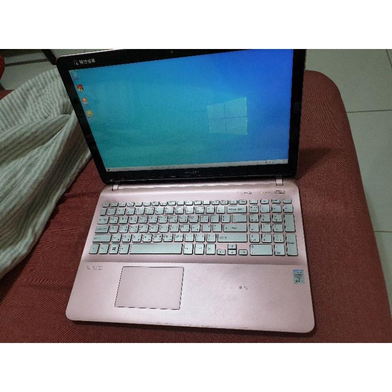 sony vaio 輕薄筆電 15.5吋 15吋 觸控筆電 獨顯 觸控螢幕 粉紅 i5