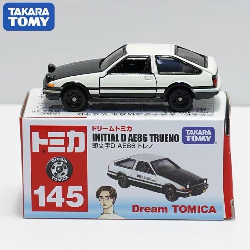 全新TOMICA AE86 頭文字D 藤原拓海 模型 多美 KYOSHO  911 法拉利 GT-R TOMY合金