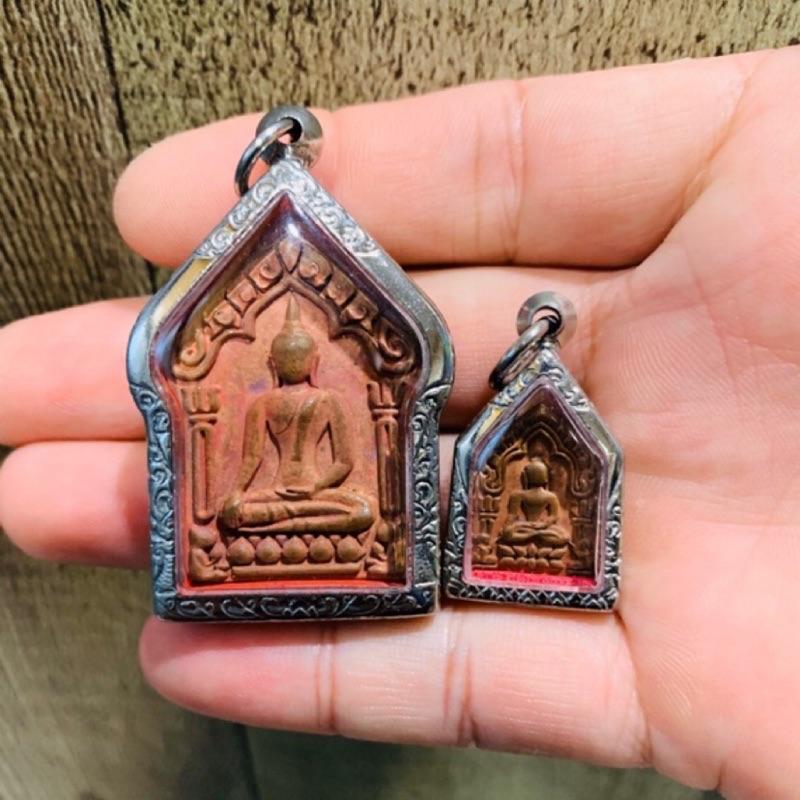 BE: 2558年份青銅聖粉 龍婆瑞 蘇拉薩 派更坤平組