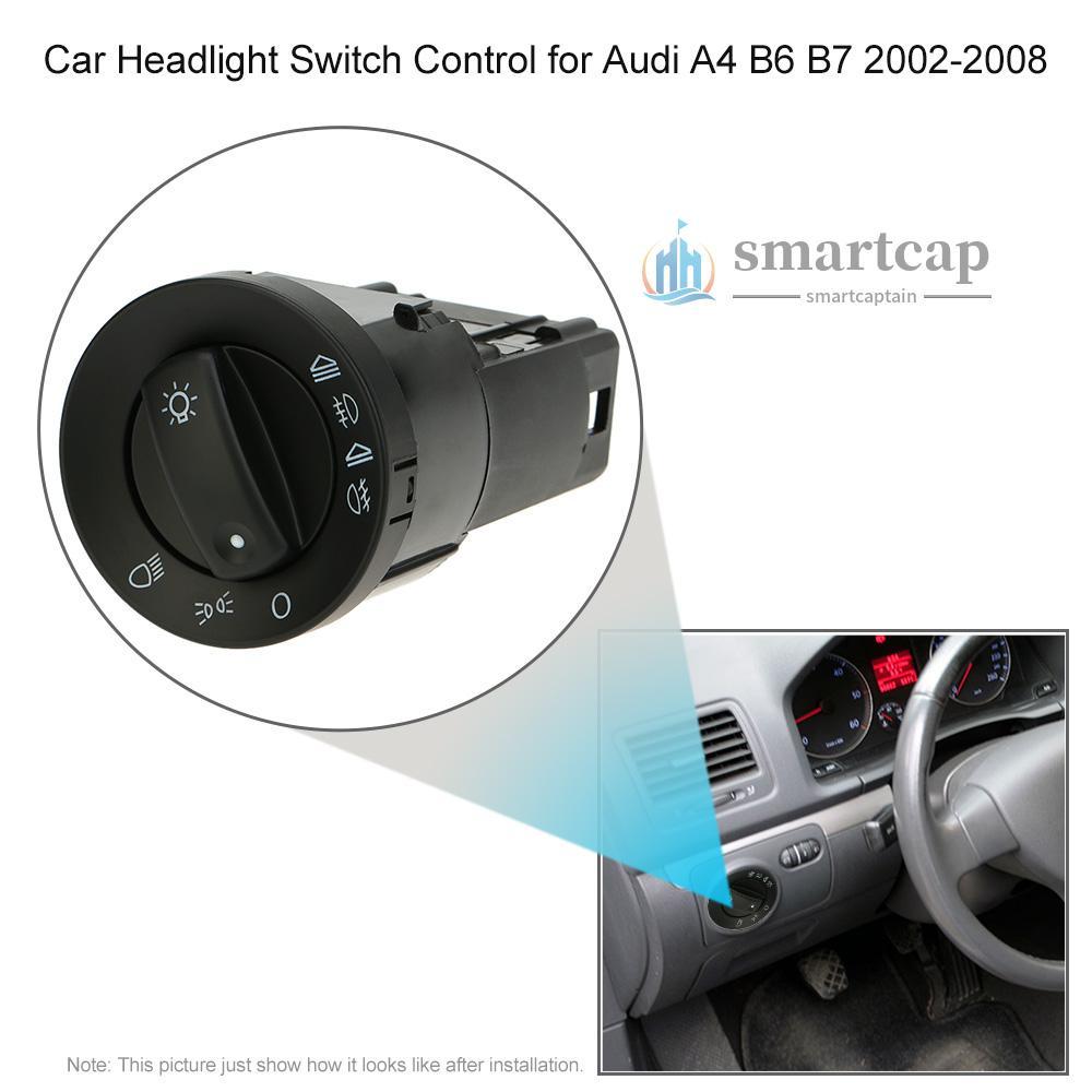 for奧迪A4/B6/B7(2002-2008)開關組合套裝大燈開關*1 + 車窗升降器主控開關*1 + 後視鏡開關*1