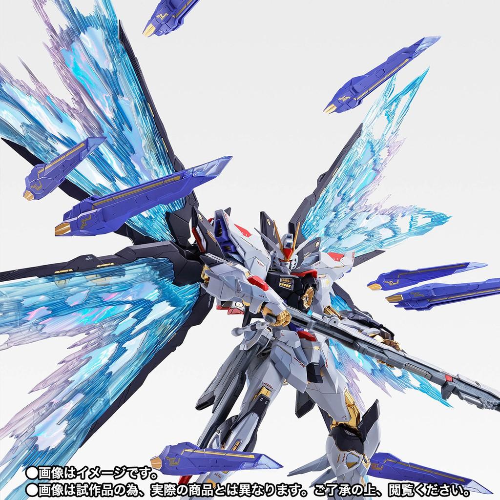 新品萬代 MB 會場限定 攻擊 自由鋼彈 METAL BUILD 魂藍版 SFSB(含鋼彈和光翼配件(Nina)