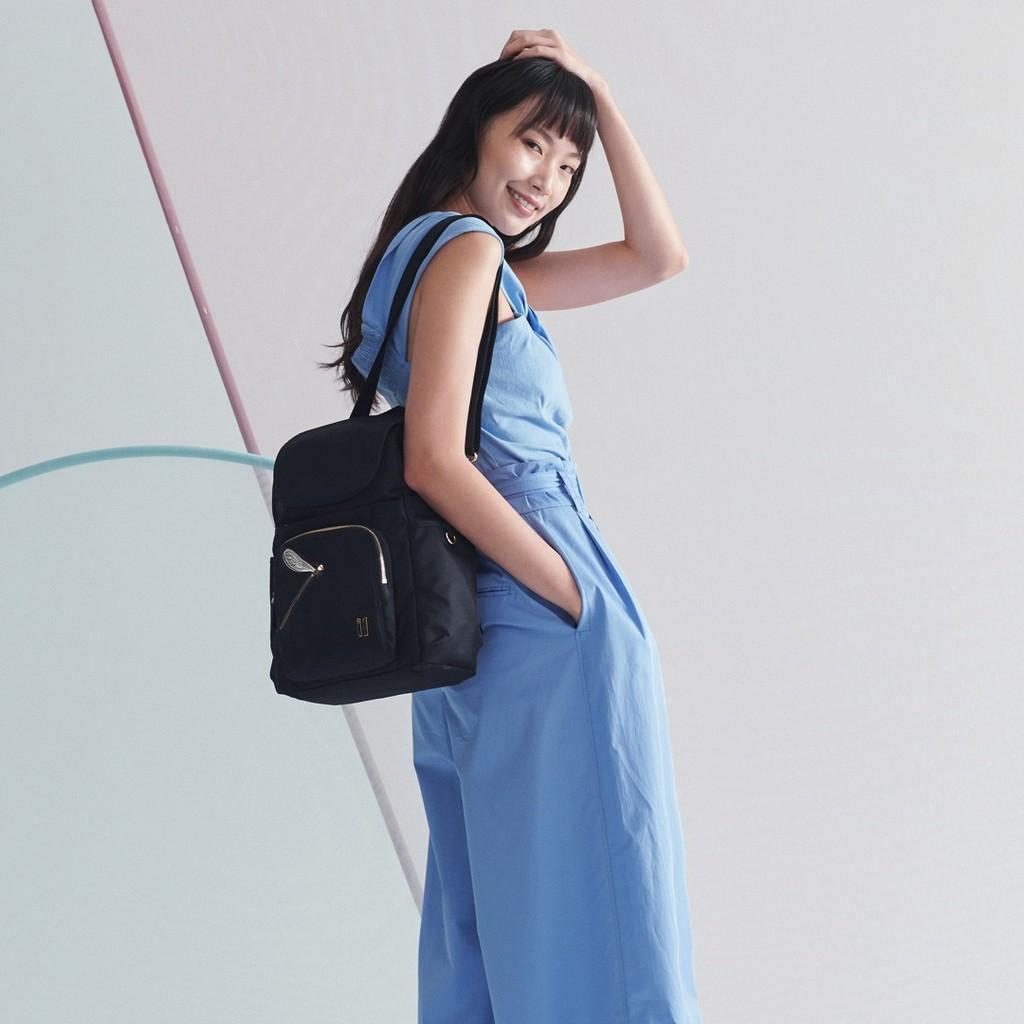 ☆SUMDEX☆人體工學設計 高級後背包 網路最低價 經典 商務 後背包 都會 筆電包 蜻蜓 765BK-DT 黑色