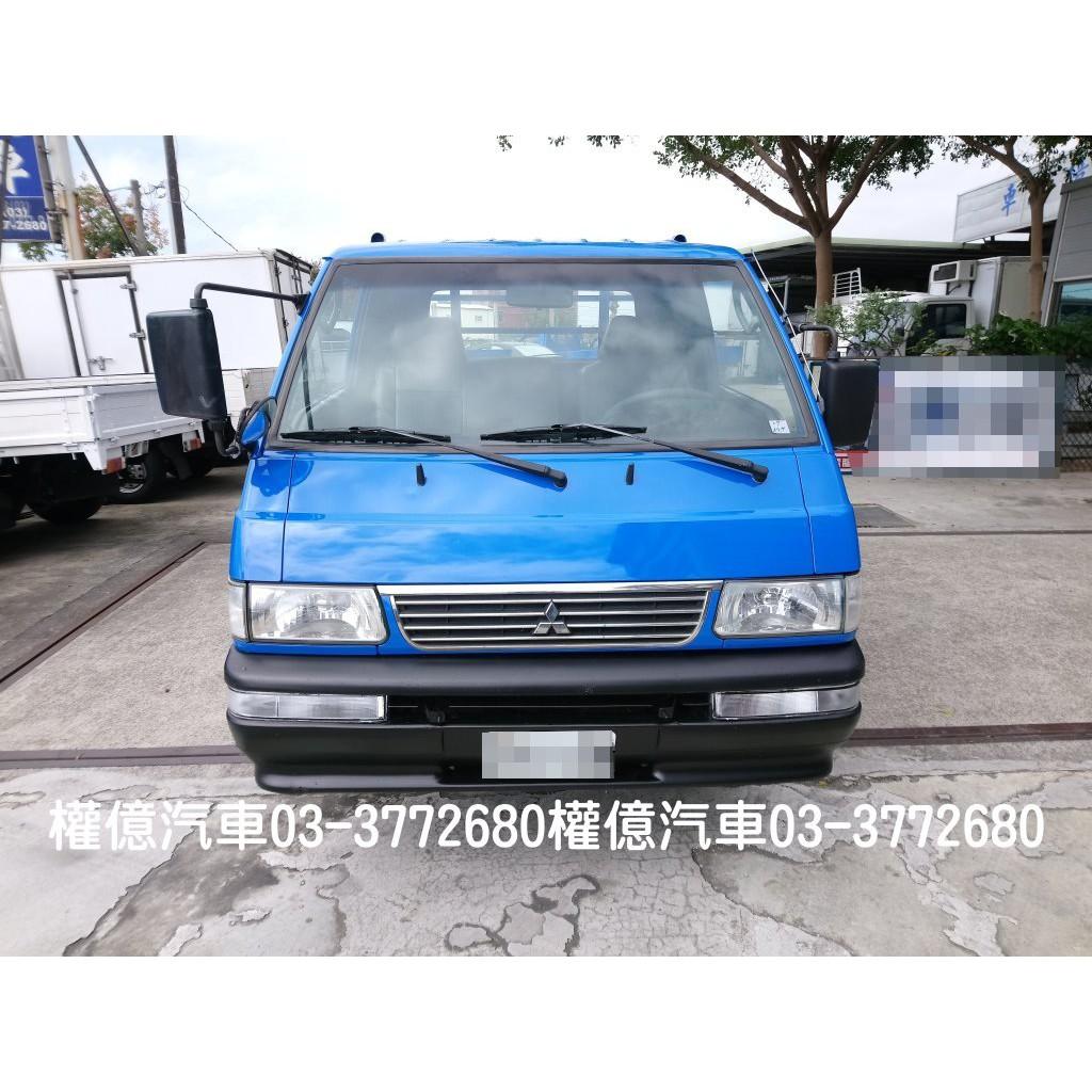 特價$19萬8 已換正時皮帶 得利卡貨車 DELICA 2.0 中華三菱 得力卡 2.7噸 二噸半 小貨車 2000cc