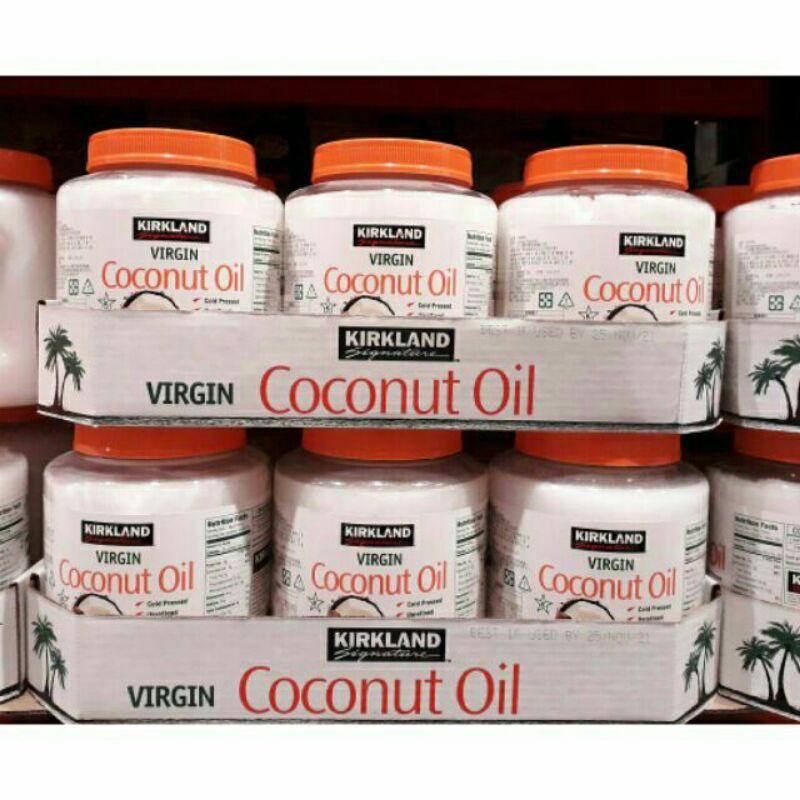 【漫時光】Kirkland 科克蘭 冷壓初榨椰子油 / COSTCO