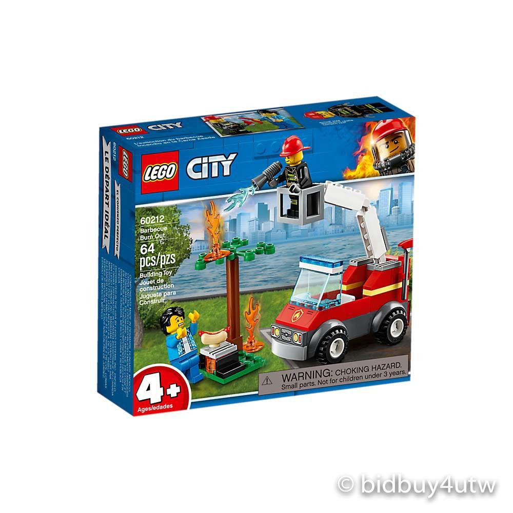 LEGO 60212 烤肉架火災 城鎮系列【必買站】樂高盒組