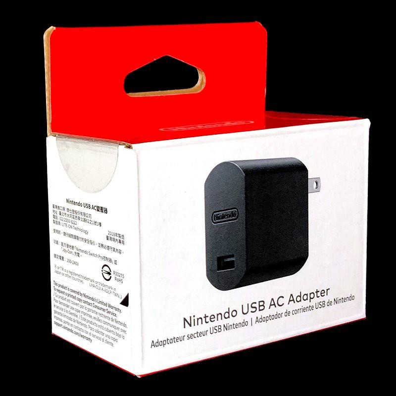 NS Switch【任天堂原廠】 迷你隨身 PRO控制器 JOY-CON USB AC 變壓器【無法充主機】台中星光電玩