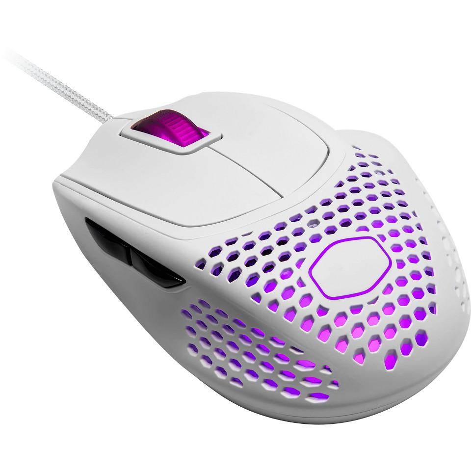 [米特3C數位] 酷碼 Cooler Master CM MM720 輕量化RGB電競滑鼠/白/MM-720-WWOL1