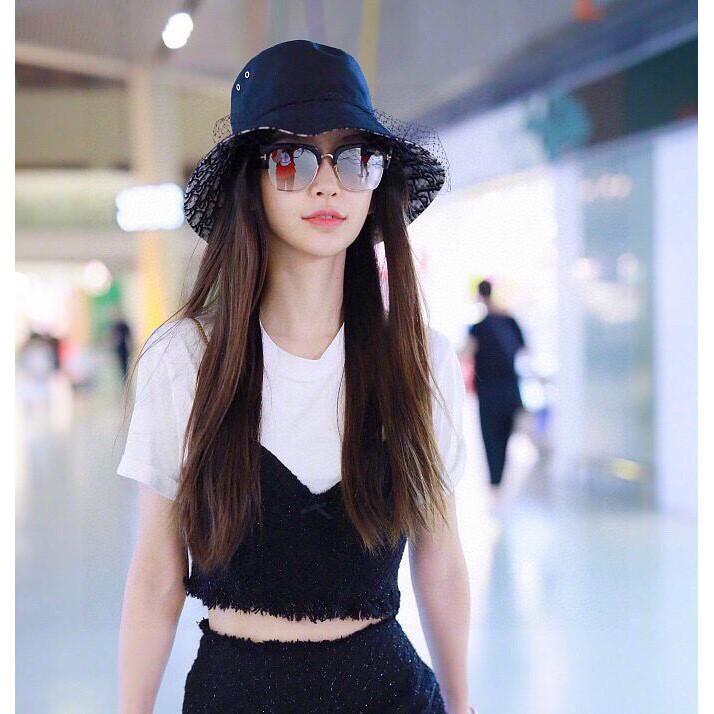 【DIOR迪奧】2021新款網紗簡約款漁夫帽
