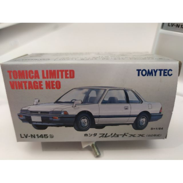 TOMYTEC Tomica LV-N145b Prelude XX 白