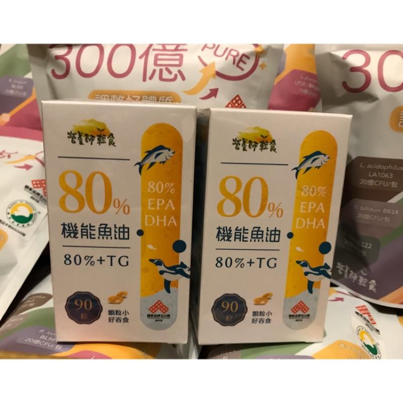 營養師輕食-80%機能魚油