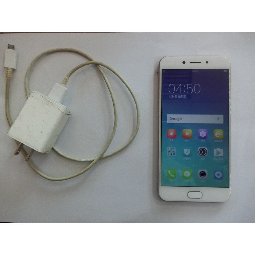 OPPO  A77  玫瑰金(二手)