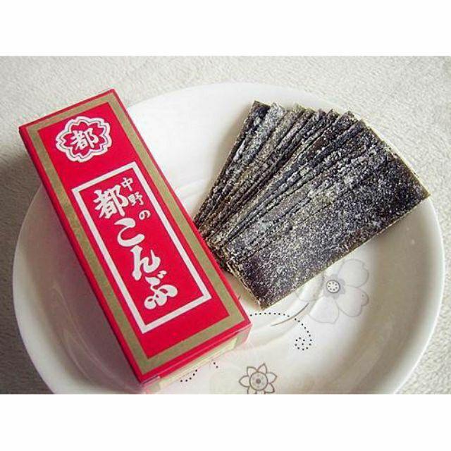 (預購)日本中野物產 都昆布 醋昆布 15g/盒