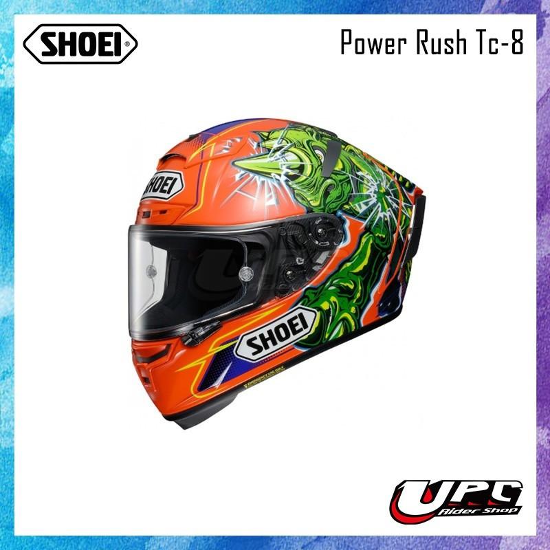 【熱烈預購中】SHOEI X-14 POWER RUSH 🆙  ✨新色登場✨  頂級帽款 大鴨尾 PINLOCK 綠橘