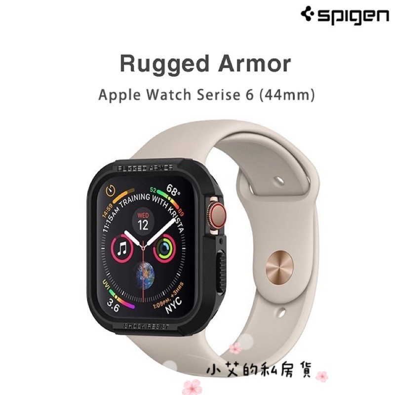 Spigen SGP Apple Watch Series 6 / 5 Rugged Armor 防摔保護殼 / 錶框