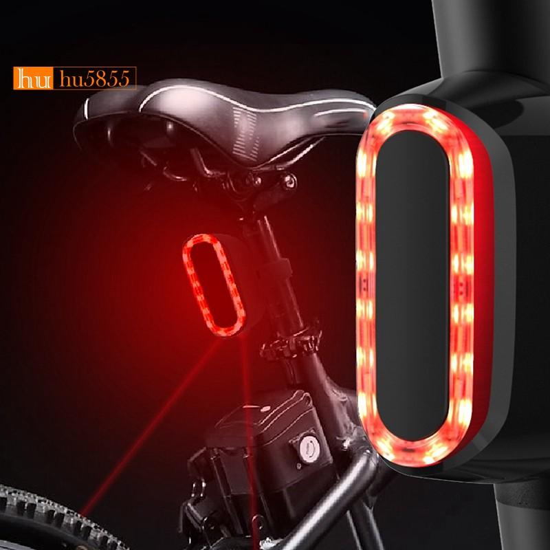 自行車USB剎車尾燈安全警告公路自行車和山地燈的後尾燈【G5】