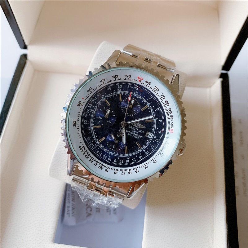 奢華男士百年靈BREITLING自動石英手錶男腕錶