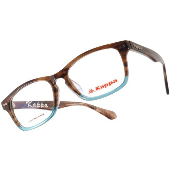 KAPPA 光學眼鏡 KP1031 BWL 拚色風格設計款-金橘眼鏡
