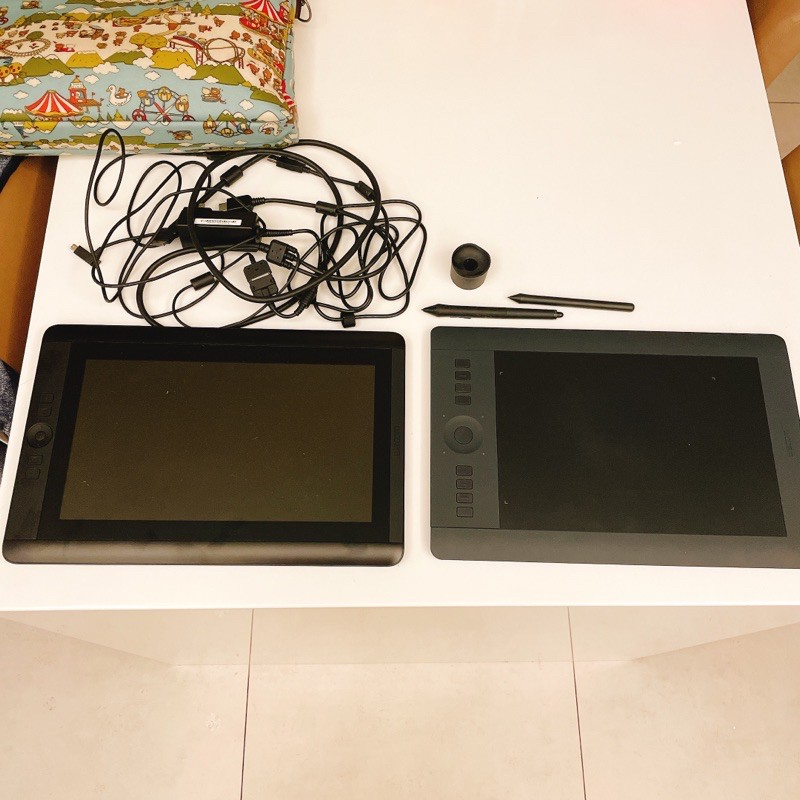 wacom contiq 13HD 二手 繪圖板 手繪版 電繪版 顯示螢幕