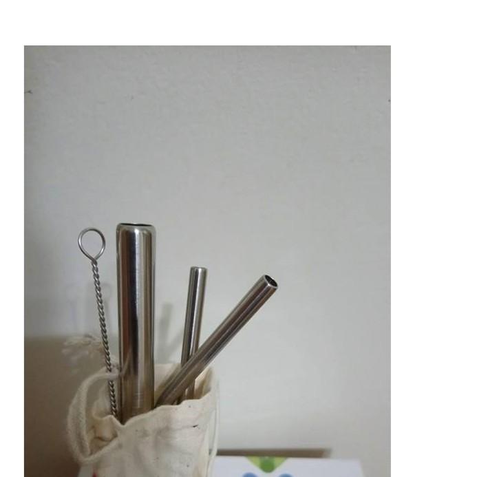 EPISTAR不銹鋼吸管組三根(可吸珍奶)